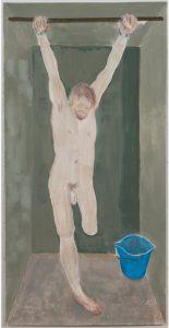 Susan Crile Black Site, One Legged Prisoner, Hanging by Wrists