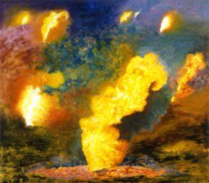 Susan Crile A Flame