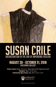 Susan Crile Susan Crile, Incarceration in the Era of Impending Facism