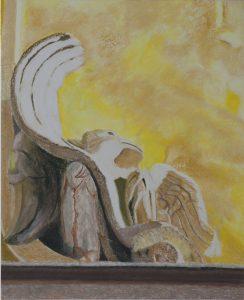 Susan Crile Eagle in Stone