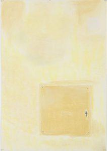 Susan Crile Luminous Yellow Wall