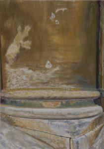 Susan Crile Painted Column