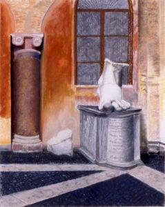Susan Crile Big Roman Foot Campodoglio