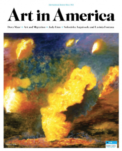 Susan Crile Art in America Review Theater of Operations