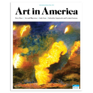 Susan Crile Art in America Cover: Theater of Operations: The Gulf Wars 1991–2011